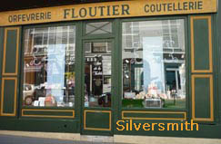silversmith in Paris since 1922